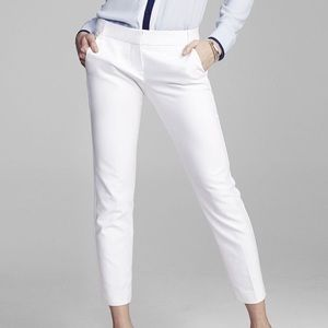 Express white Columnist Ankle Pant Sz 4